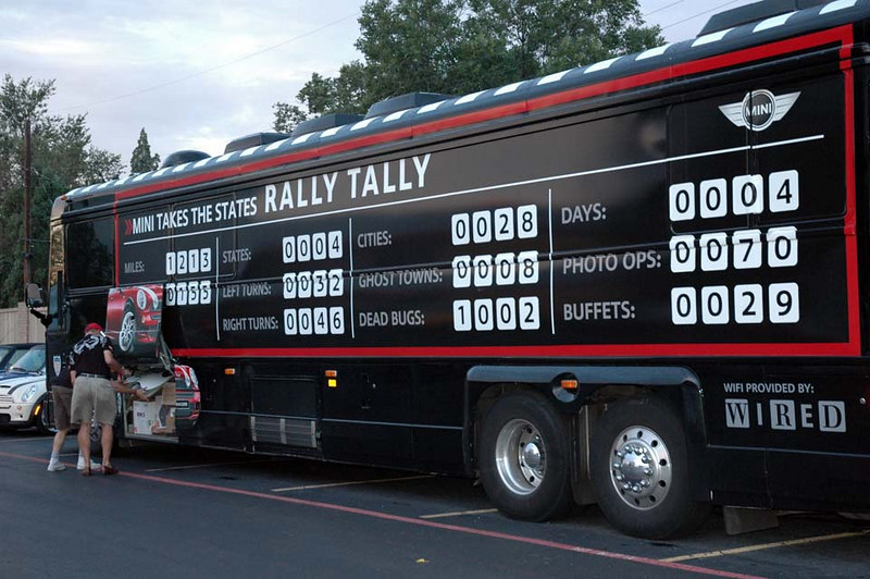 The Rally Tally is updated. Who's counting the bugs?