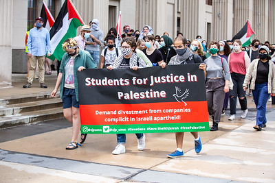 UofM Palestine Protest, Minneapolis, May 21