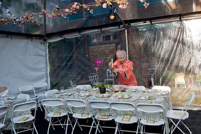 Passover Sedar 2008 at the Davis Tent