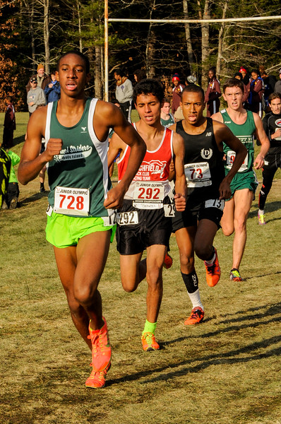 2014 USATF Region 1 JO XC 17-18 Boys