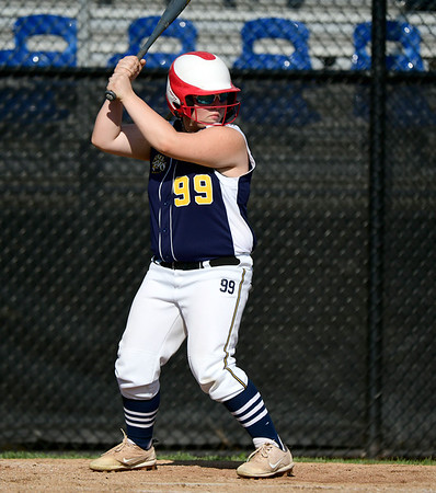 7/24/2019 Mike Orazzi   Staff Connecticut's Teagan Mulvihill (99) during Wednesday's Little League softball game at Breen Field in Bristol.