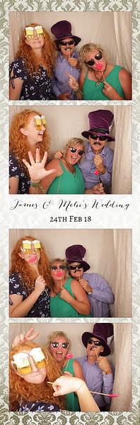 James & Melii's Wedding Photostrips