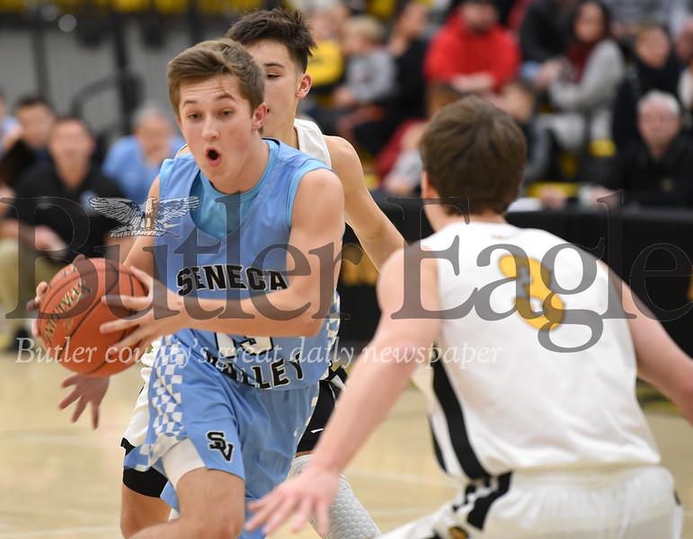 18748 Seneca Valley  vs North Allegheny Boys Basketball game at North Allegheny High School