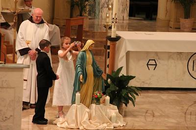2012 St. Joseph May crowning