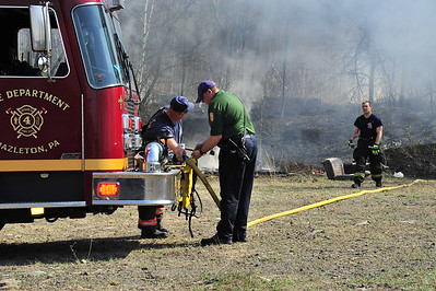 Shaft Road brush fire