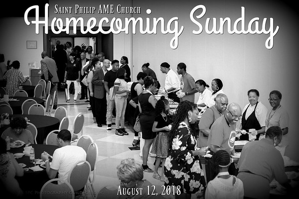 2018 Homecoming Sunday