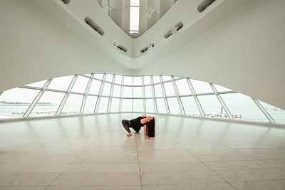 Yoga Class (Mke Art Museum)
