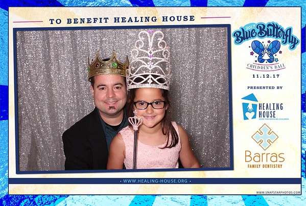2017-11-12 Healing House Blue Butterfly Ball