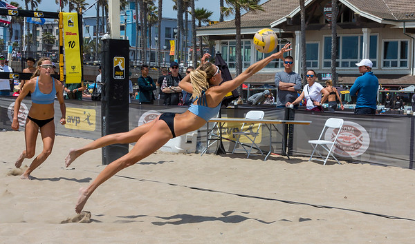 AVP Volleyball Huntington Beach Open 2019