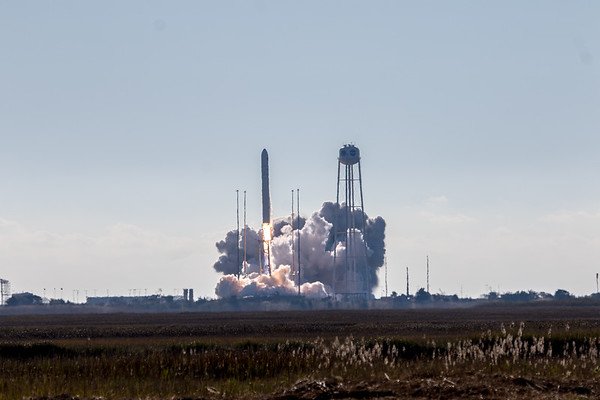 NASA NG-12 Cygnus Antares Rocket