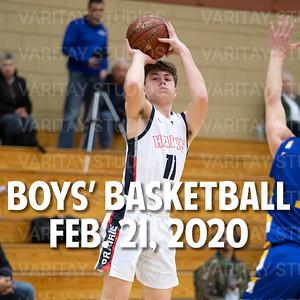 Prairie Boys Basketball 2-21-2020