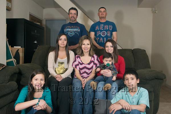 Vigil Family 2012 Christmas Portrait