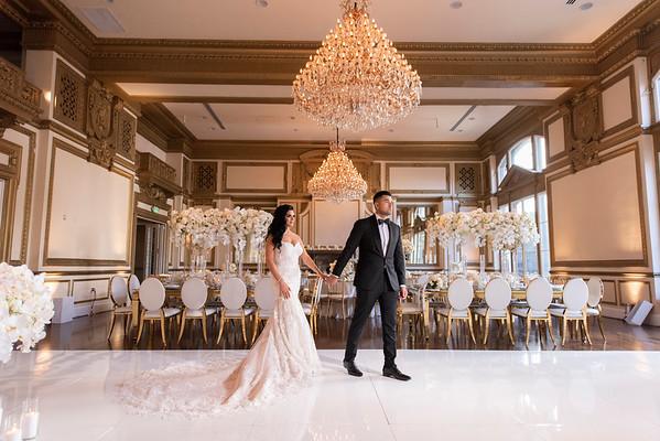 Karina & Victor: Bride & Groom, Bridal Party & Family