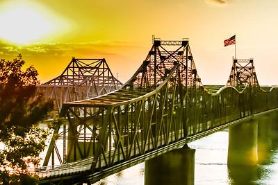 Photo Set - Mississippi Sunset
