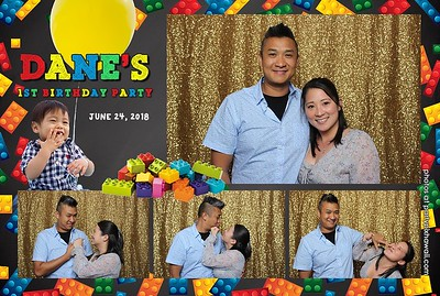 Dane's 1st Birthday (Mini Open Air Photo Booth 2)