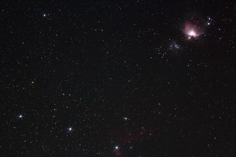 Orion's Belt and Sword - 15/10/2018 (Processed Stack)