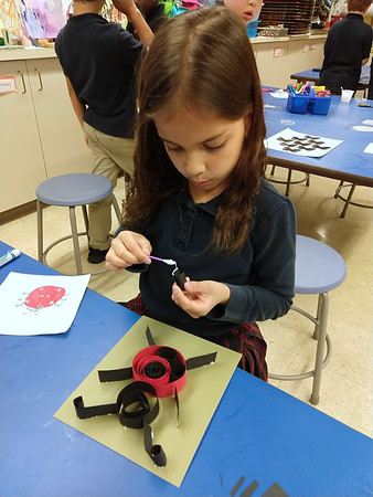 2nd Grade - Quilled Insects