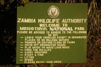 Wildlife Park in Livingstone