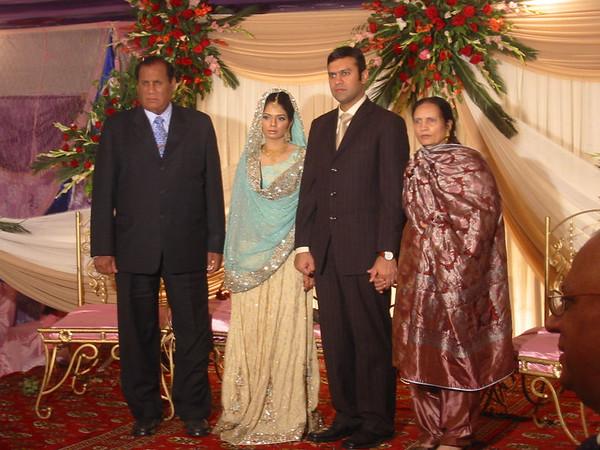 Pakistan - Zaeem&Amena's wedding