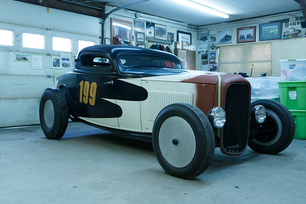 Rolling Bones Hot Rod Shop Garage Night Event in Greenfield Center , NY - February 2016