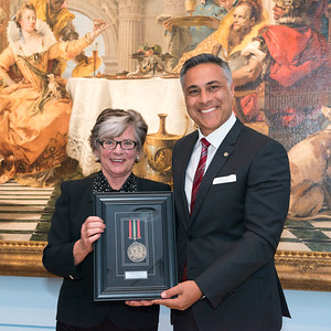 20151023_LaTrobe University Alumni Award Presentation and Dinner at NGV