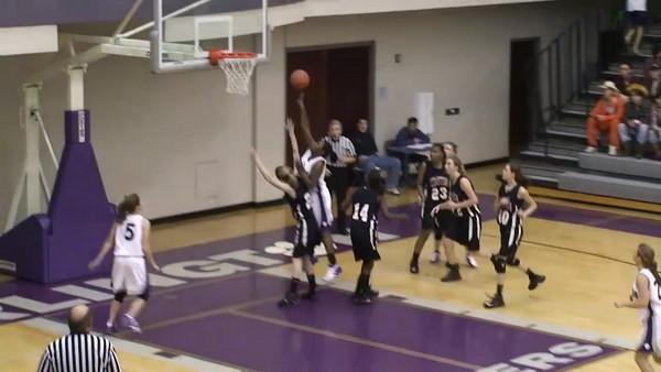 Darlington Girls vs Cedartown 4th Quarter 1-12-2008 video