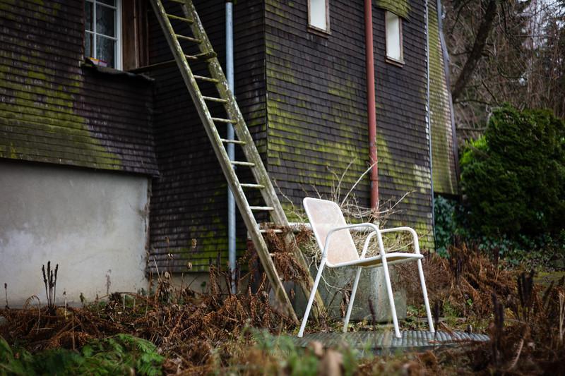 Trogen, Appenzell Ausserrhoden.  Schweiz, Dezember 2011.