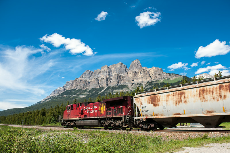 CP train - Rocky Mountains