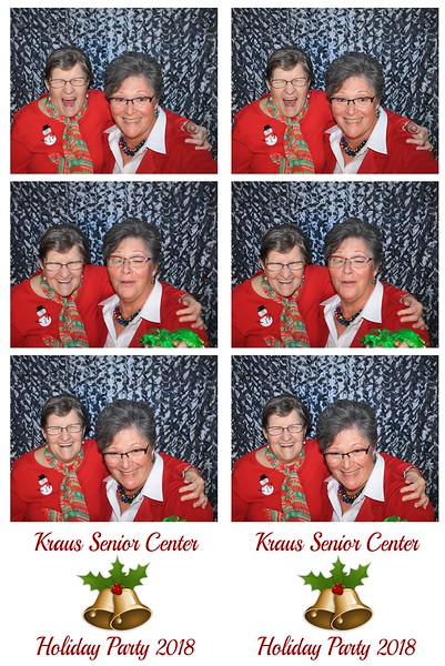"Kraus Senior Center ""Holiday Party 2018"""