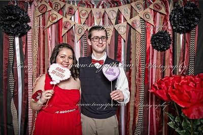 Sweet Heart court and Photo Booth 7 Feb 2016