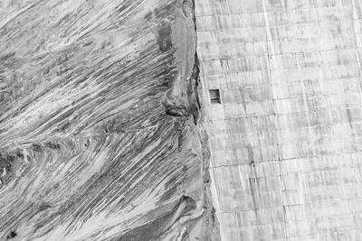 Glen Canyon Dam Black & White