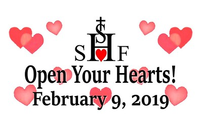 Sacred Heart of Jesus Fundraiser - February 9, 2019