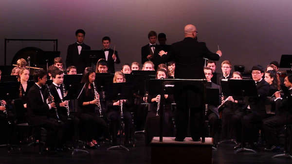 Winter Band concert 2015.2.26 video