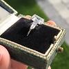 2.03ct Emerald Cut Diamond Ring, GIA K IF 2