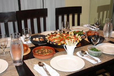 Spanish Dinner Party (September 2009)