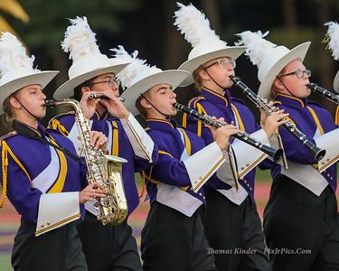 Band at Yorktown Football Game 9/21/18