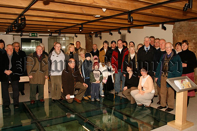 Friends of Newry & Mourne Museum on a preview tour with Noreen Cunningham (curator), 07W5N65