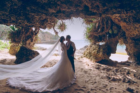ROGER+STELLA PRE-WEDDING OKINAWA