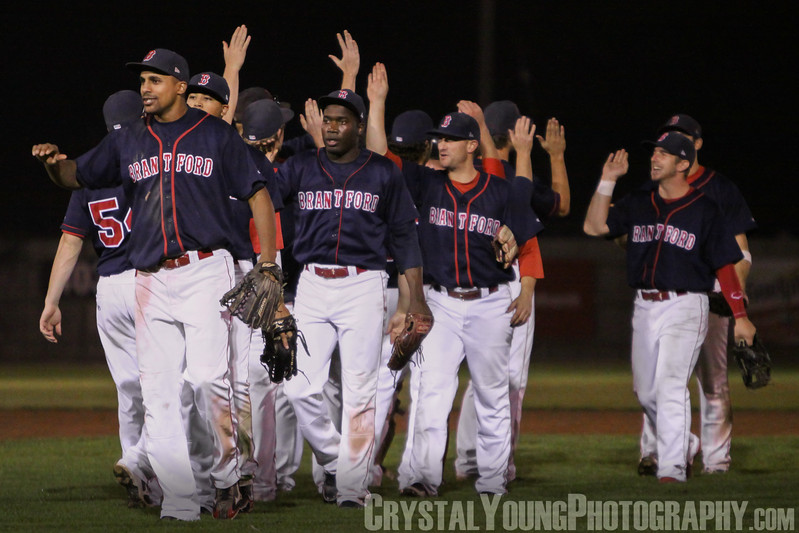 Brantford Red Sox at Guelph Royals IBL Playoffs, Round 1 Game 6 August 17, 2013