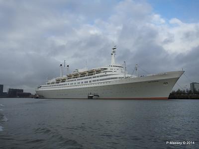 ss ROTTERDAM - A Night Aboard 12 Jan 2014