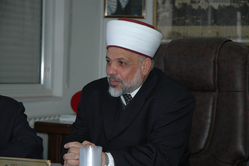 Sheikh Tayseer Rajab Al-Tamini, supreme judge of the Islamic Shari'a Courts, Palestine.
