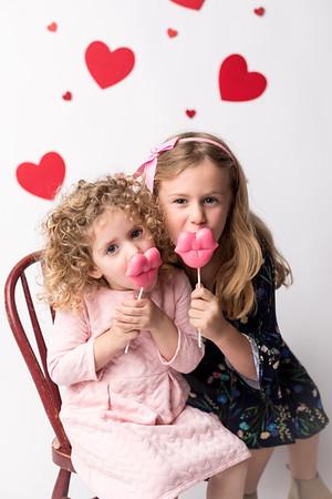 Zoe and Eva's Valentine Mini
