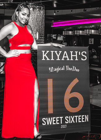 Kiyah's Sweet 16teen Voodoo Theme Party