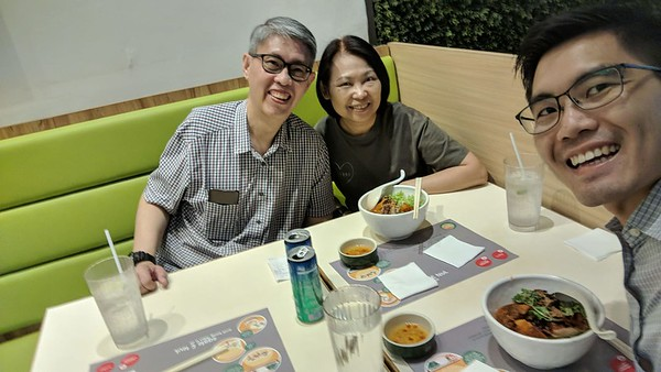 Lunch with Joshua Chong (31 October 2018)