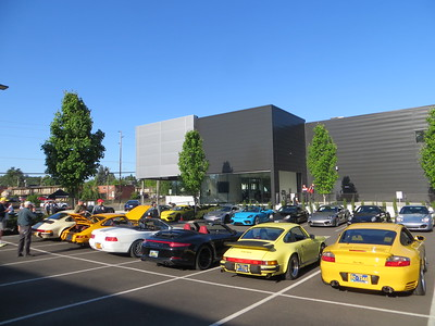 Beaverton Porsche Cars and Coffee - May 15