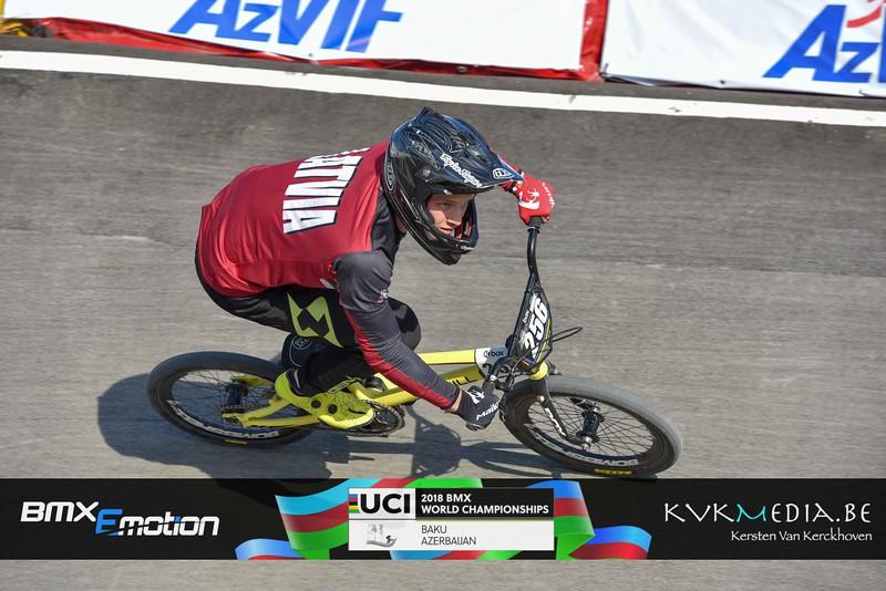 UCI BMX WC BAKU -  Championship - part 2