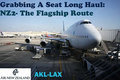 Grabbing A Seat Long Haul - Air NZ AKL-LAX (2010)