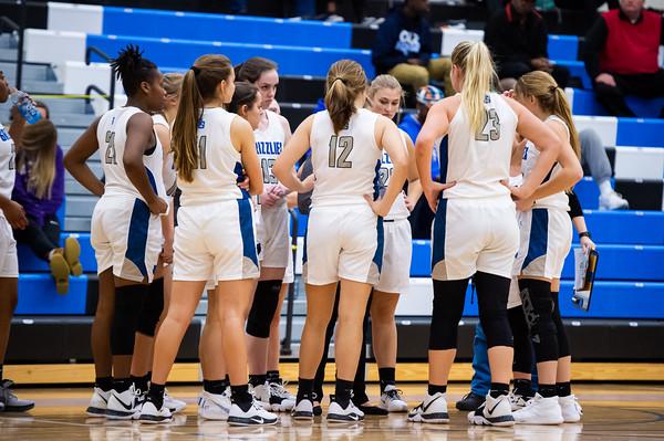 Oak Grove Ladies Basketball vs Salisbury