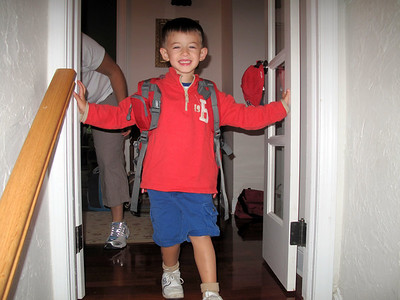 Zack's first day of school 2010