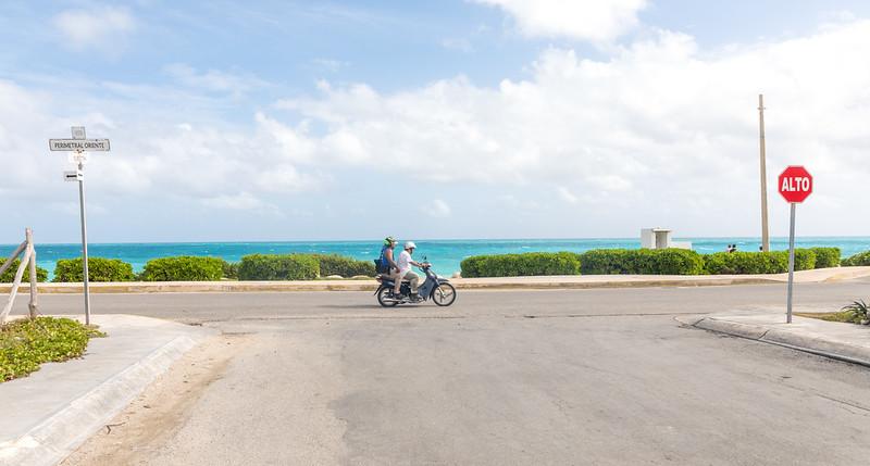Option 8)  Observe island rush hour traffic.